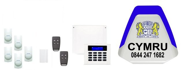 Wales served by Cymru Alarm Installers - Orisec Intruder Alarms and Home Automation