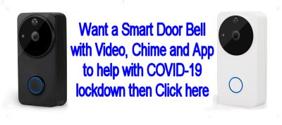 Smart Wi-Fi Video Door Bell from The Security Network