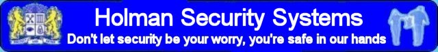 Holman Security Systems and Burglar Alarms Directory WR